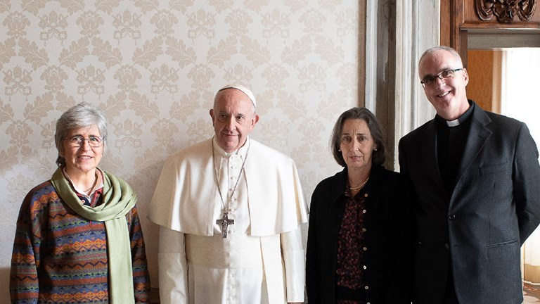 World Union of Catholic Women's Organisations Meeting with Pope Francis